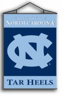 "North Carolina Tar Heels Premium 28"" x 40"" Indoor Banner Scroll"
