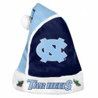 North Carolina Tar Heels Santa Hat