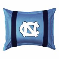 North Carolina Tar Heels Sidelines Pillow Sham