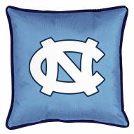 North Carolina Tar Heels Sidelines Pillow