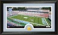 North Carolina Tar Heels Stadium Bronze Coin Panoramic Photo Mint