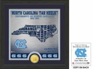 North Carolina Tar Heels State Bronze Coin Photo Mint