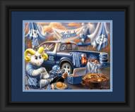 North Carolina Tar Heels Tailgate Framed Print