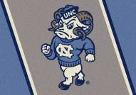 North Carolina Tar Heels Team Spirit Area Rug