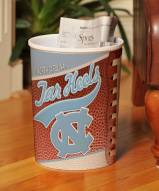 North Carolina Tar Heels Trash Can