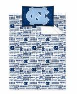 North Carolina Tar Heels Twin Bed Sheets