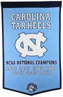 Winning Streak North Carolina Tarheels NCAA Basketball Dynasty Banner