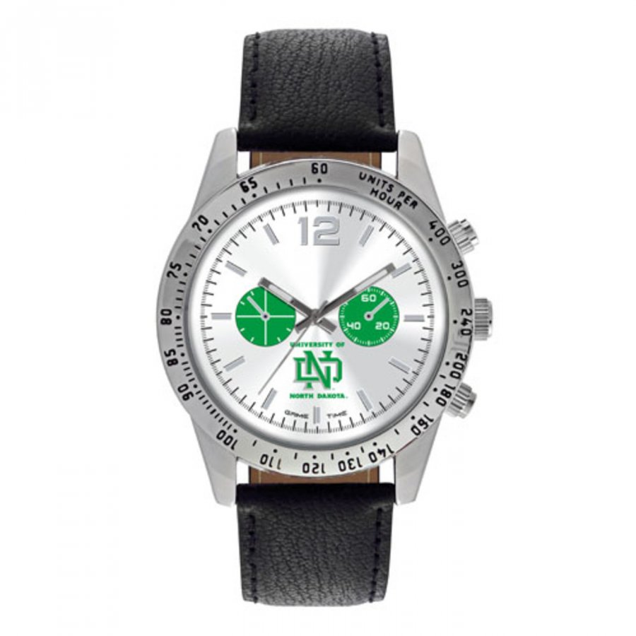 North Dakota Fighting Hawks Men's Letterman Watch