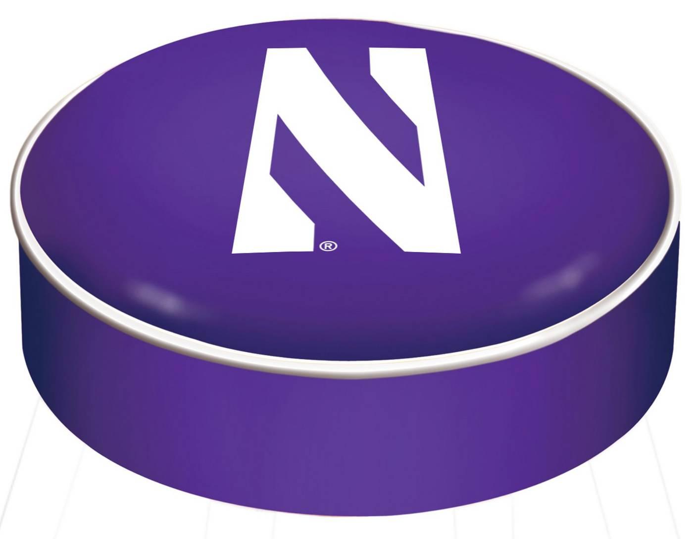 Northwestern Wildcats Bar Stool Seat Cover