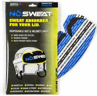 NoSweat Hat and Helmet Standard Adhesive Liners - 12 Pack