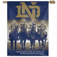 "Notre Dame Fighting Irish 27"" x 37"" Horsemen Banner"