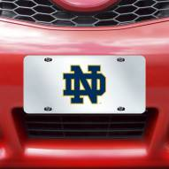 Notre Dame Fighting Irish Acrylic License Plate
