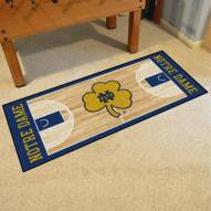 Notre Dame Fighting Irish Basketball Court Runner Rug