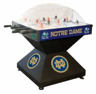 Notre Dame Fighting Irish Deluxe Bubble Hockey