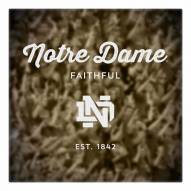 Notre Dame Fighting Irish Canvas Logo Art