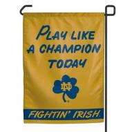 "Notre Dame Fighting Irish Champion 11"" x 15"" Garden Flag"