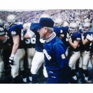 "Notre Dame Fighting Irish Chris Zorich With Lou Holtz Signed 16"" x 20"" Photo"