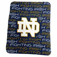Notre Dame Fighting Irish Classic Fleece Blanket