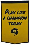 Notre Dame Fighting Irish Dynasty Banner