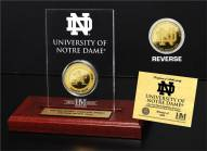 Notre Dame Fighting Irish Etched Acrylic