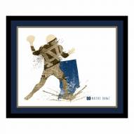 Notre Dame Fighting Irish Framed Silhouette Art