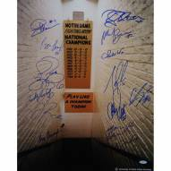 "Notre Dame Fighting Irish Greats 14 Signature Signed 16"" x 20"" Photo"