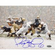 "Notre Dame Fighting Irish Jerome Bettis Being Tackled vs. Penn State Signed 16"" x 20"" Photo"