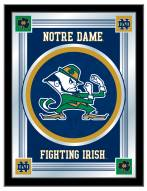 Notre Dame Fighting Irish Logo Mirror