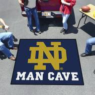 Notre Dame Fighting Irish Man Cave Tailgate Mat