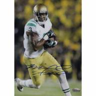 "Notre Dame Fighting Irish Michael Floyd Running with Ball Signed 16"" x 20"" Photo"
