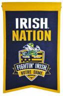 Notre Dame Fighting Irish Nations Banner