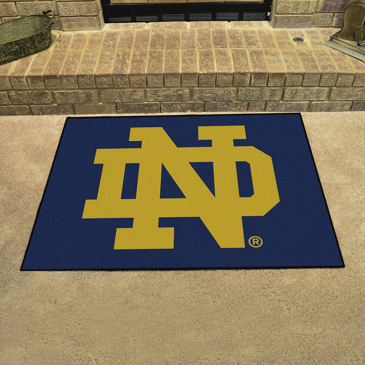 Notre Dame Fighting Irish Quot Nd Quot All Star Mat