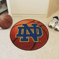 "Notre Dame Fighting Irish ""ND"" Basketball Mat"