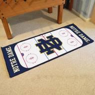 """Notre Dame Fighting Irish """"ND"""" Hockey Rink Runner Mat"""