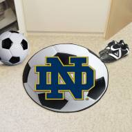 "Notre Dame Fighting Irish ""ND"" Soccer Ball Mat"