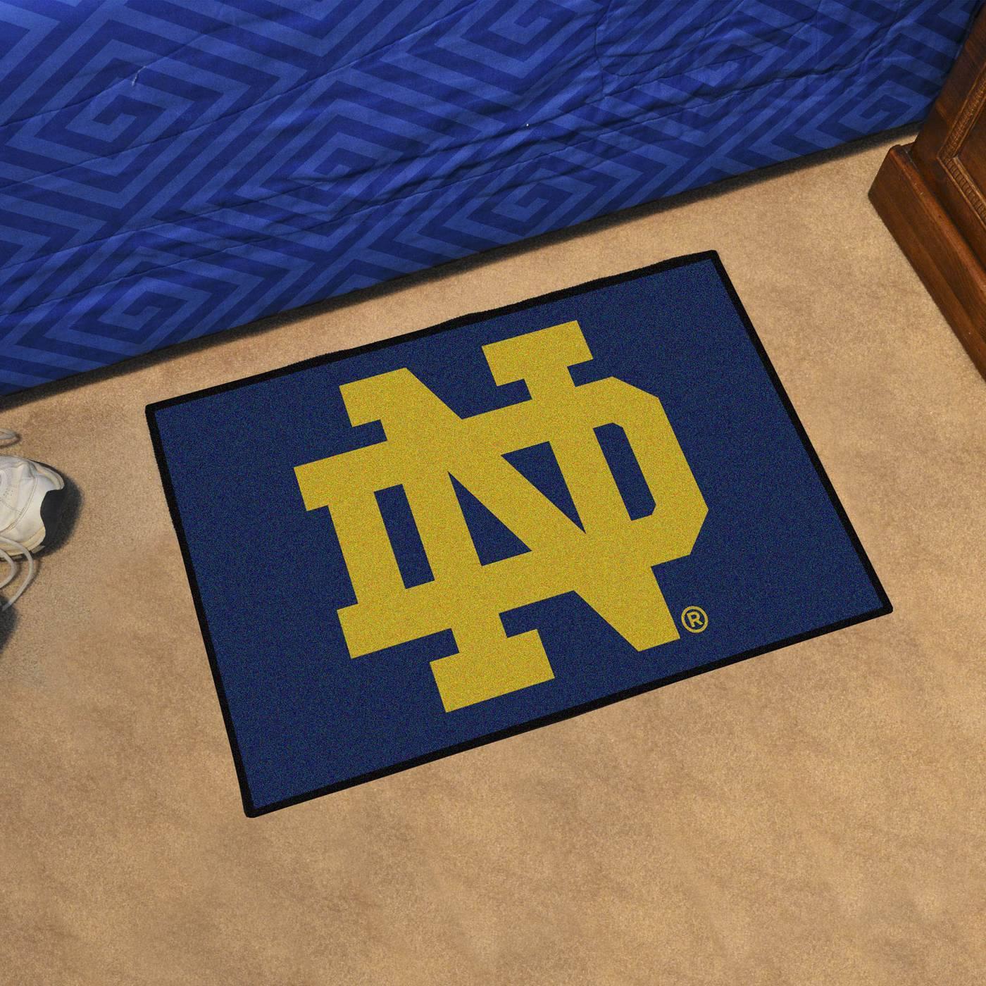 Notre Dame Fighting Irish Quot Nd Quot Starter Rug