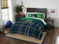 Notre Dame Fighting Irish Plaid Full Comforter Set