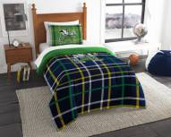 Notre Dame Fighting Irish Plaid Twin Comforter Set