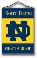 "Notre Dame Fighting Irish Premium 28"" x 40"" Indoor Banner Scroll"