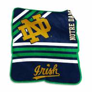 Notre Dame Fighting Irish Raschel Throw Blanket