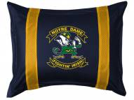 Notre Dame Fighting Irish Sidelines Pillow Sham