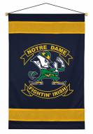 Notre Dame Fighting Irish Sidelines Wall Hanging