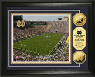 Notre Dame Fighting Irish Stadium 24KT Gold Coin Photomint