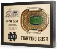 Notre Dame Fighting Irish Stadium View Wall Art