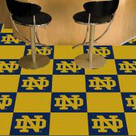 Notre Dame Fighting Irish Team Carpet Tiles