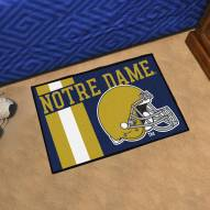 Notre Dame Fighting Irish Uniform Inspired Starter Rug