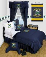 Notre Dame Fighting Irish Jersey Comforter & Sheet Complete Bedding Set