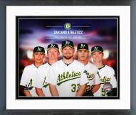 Oakland Athletics 2014 Team Composite Framed Photo