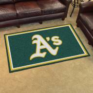 Oakland Athletics 4' x 6' Area Rug