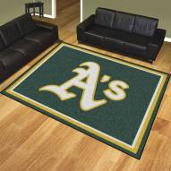 Oakland Athletics 8' x 10' Area Rug